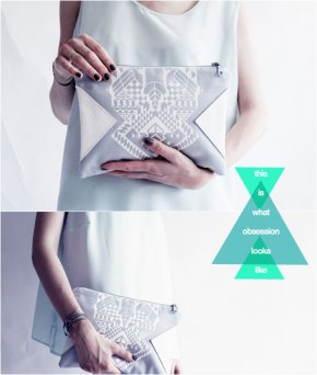 Geometric clutch by Coriumi